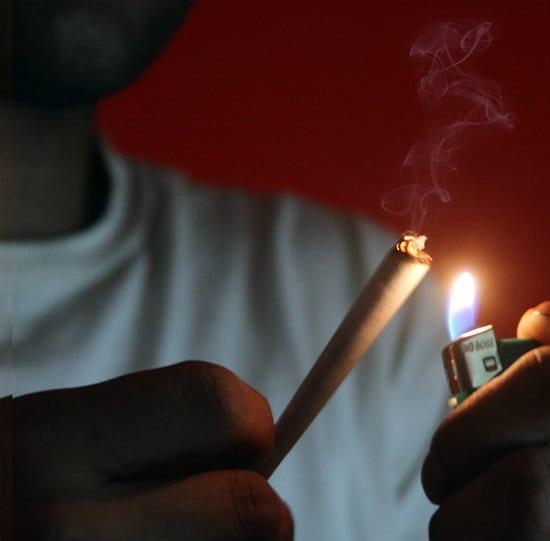 palenie jointa i blanta