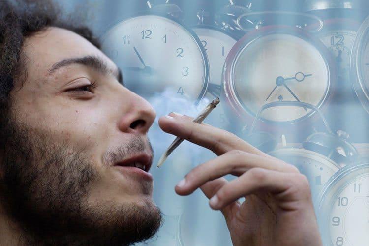 Czas po marihuanie płynie wolniej